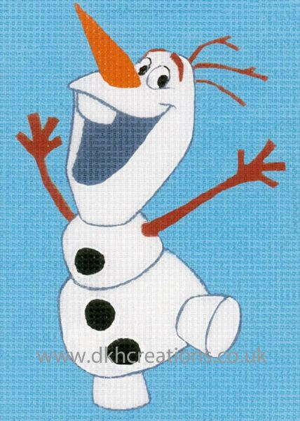 Disney Frozen Olaf Tapestry Kit